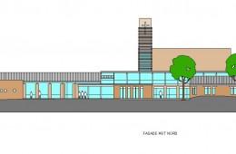 Bøler kirke : Fasade