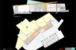 Jøssingsenteret : Plan 2.etg + snitt
