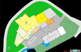 Jøssundsenteret : Plan hovedetasje